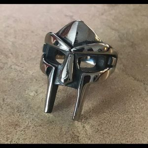 MF DOOM Stainless Steel Ring